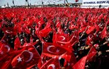 Nearly 1.6 million people attend Yenikapı rally of People's Alliance in Istanbul