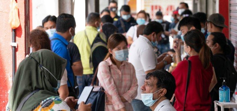 MALAYSIA REPORTS 1,228 NEW CORONAVIRUS CASES, BIGGEST DAILY JUMP