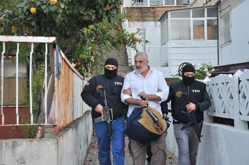 Counter terror units arrest Daesh suspect in Izmir. (Photo AA)