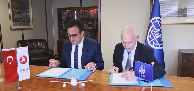 TURKISH AIRLINES, IOM SIGN LONG-TERM PARTNERSHIP