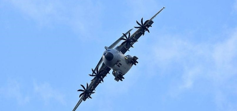 TURKEY RECEIVES FLYING CASTLE A400M PLANE, JOINTLY MANUFACTURED WITH EUROPEAN COUNTRIES