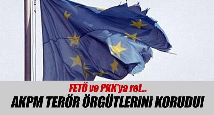 AKPMde, FETÖ ve PKKya ret