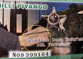 Milli Piyango 'Çanakkale' biletlerinde şaşkına uğratan hata
