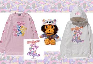 Sokak modasında nostaljik kavuşma: Care Bears x BAPE