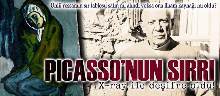 Picasso'nun sırrı X-ray ile deşifre oldu