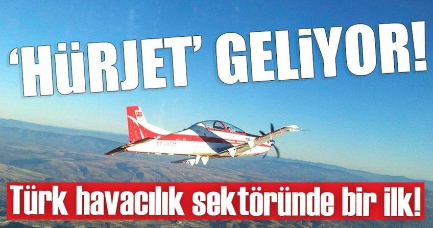 HÜRKUŞun jet versiyonu HÜRJET geliyor