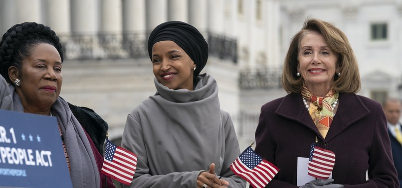 PELOSI SAYS SPOKE TO CAPITOL POLICE FOR ILHAN OMARS SAFETY
