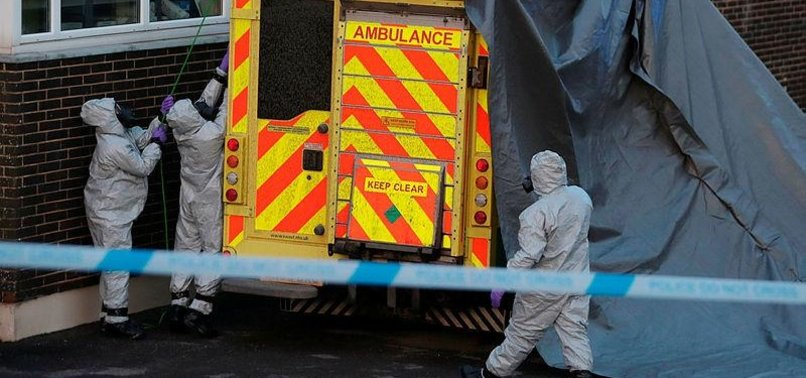 NERVE AGENT TRACES FOUND IN EX-SPYS POISONING