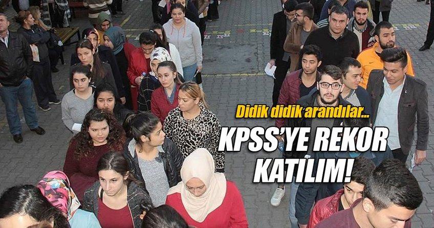 KPSS'ye rekor katılım