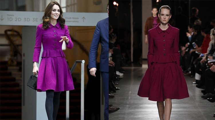 KATE MİDDLETON'IN OSCAR DE LA RENTA TERCİHİ