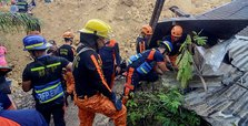 Post-typhoon landslides in Philippines kill at least 12