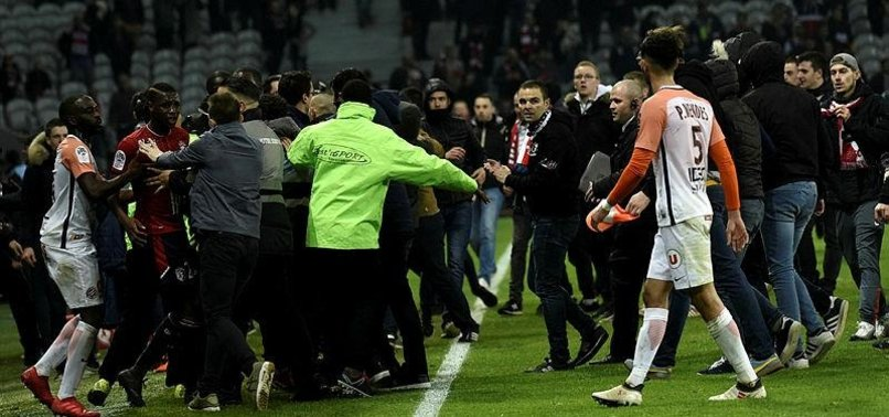 FRENCH LEAGUE TO INVESTIGATE LILLE INCIDENTS