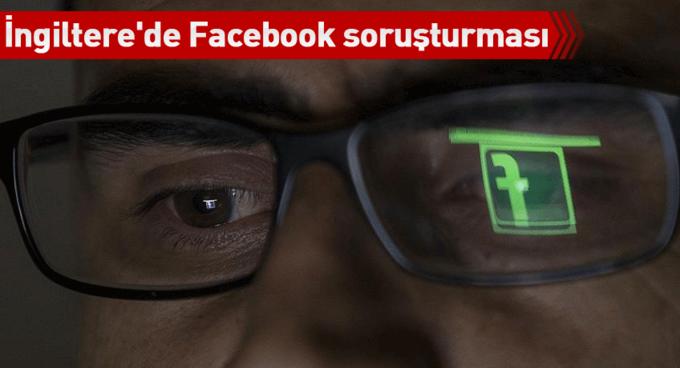 İngilterede Facebook veri ihlali iddialarına soruşturma