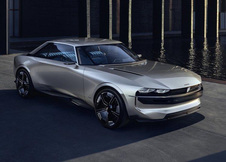 Peugeot'un Vizyonu; e-Legend Concept
