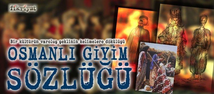 Osmanlı giyim sözlüğü