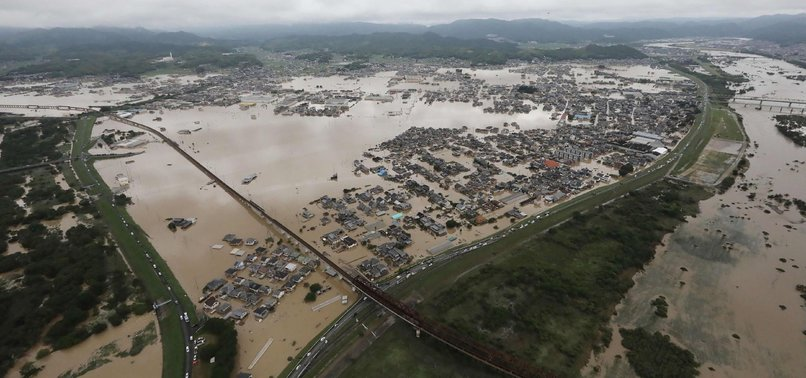 DEATH TOLL IN JAPAN FLOOD DISASTER TOPS 200