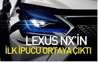 Lexus NX'in ilk ipucu ortaya çıktı