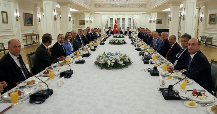 Başbakan Yıldırım ile yapılan görüşmede 19 Alman şirket yer aldı