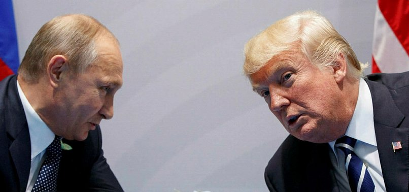 PUTIN PRAISES TRUMP, SAYS US POLITICAL SYSTEM EATING ITSELF