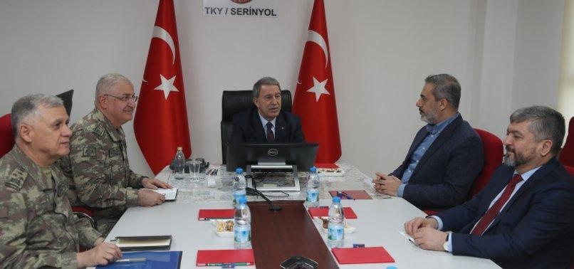 Turkish, US military chiefs meet in Ljubljana to discuss
