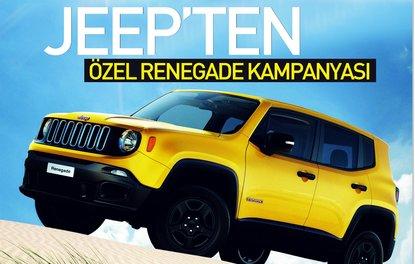 Jeep'ten özel Renegade kampanyası