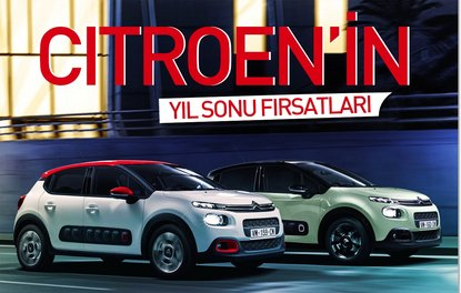 CİTROEN'İN YIL SONU FIRSATLARI