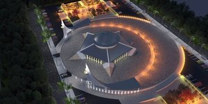 Türkiyenin ilk 'Ayyıldızlı Camisi' Sivas'a yapılıyor