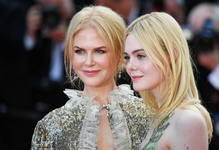 Nicole Kidman ve Elle Fanning kırmızı halıda