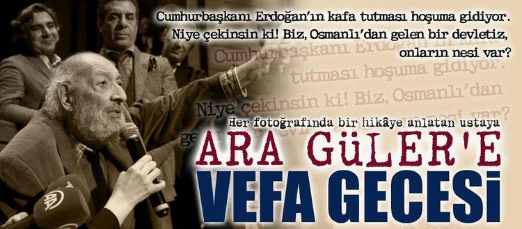Ara Güler: Biz Osmanlı'dan gelen bir devletiz, onların nesi var?