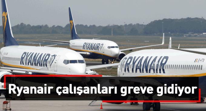 Belçikada Ryanair çalışanları greve gidecek