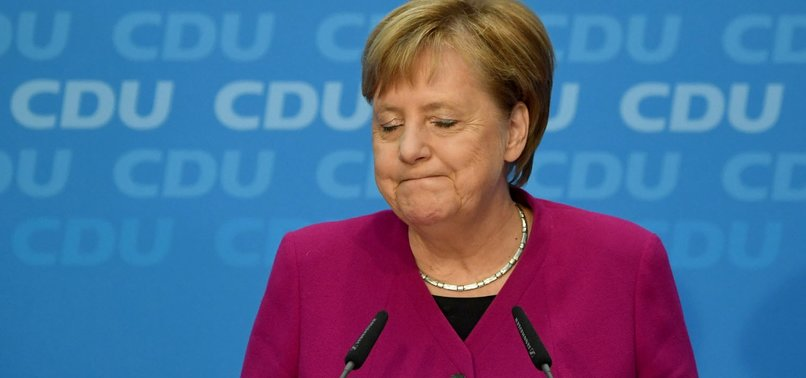 WEAKENED MERKEL TO STEP DOWN AS GERMAN CHANCELLOR IN 2021