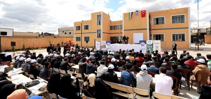 TURKEY TO BUILD NEW FACULTIES TO PROMOTE HIGHER EDUCATION IN NORTHERN SYRIA