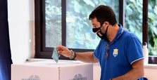Italy's center-left holding on in key regions