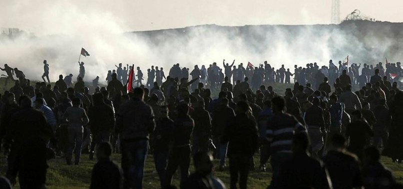PALESTINIAN DIES OF INJURY SUSTAINED DURING GAZA RALLY