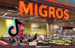 Migros, TikTokta rekor kıran markalardan oldu