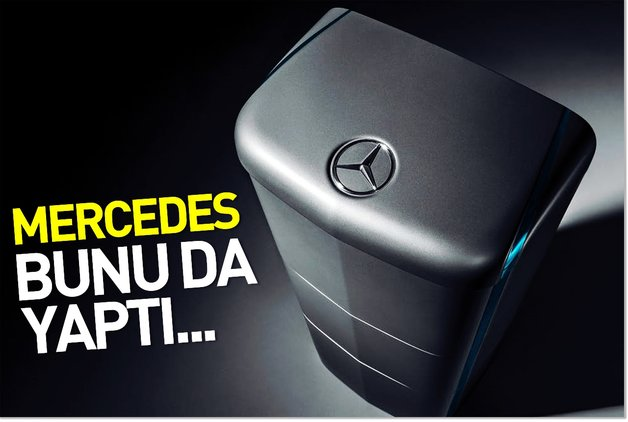 Mercedes bunu da yaptı…