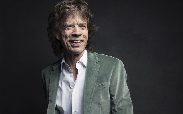 Mick Jagger of the Rolling Stones poses for a portrait in New York. (AP Photo)