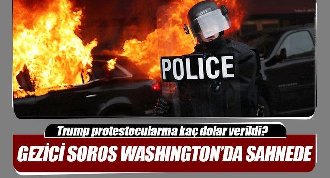 Yalancı Baharcı Soros, bu sefer Washingtonda ortaya çıktı