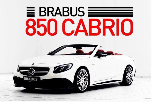 Brabus 850 Cabrio ortaya çıktı