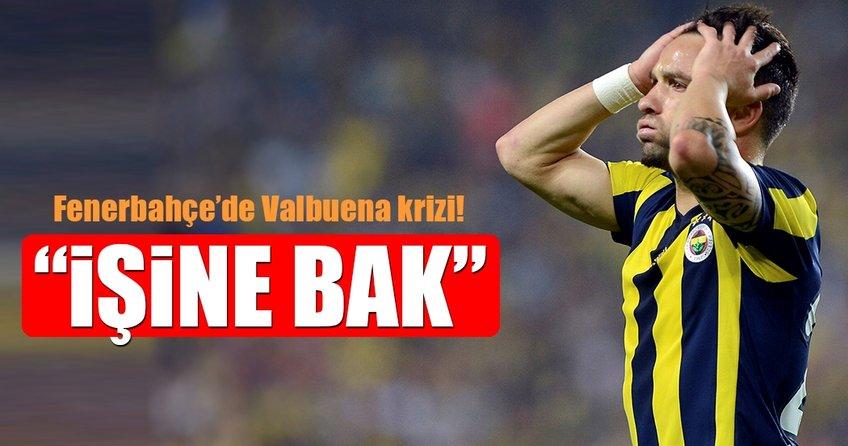Fenerbahçe'de Valbuena krizi