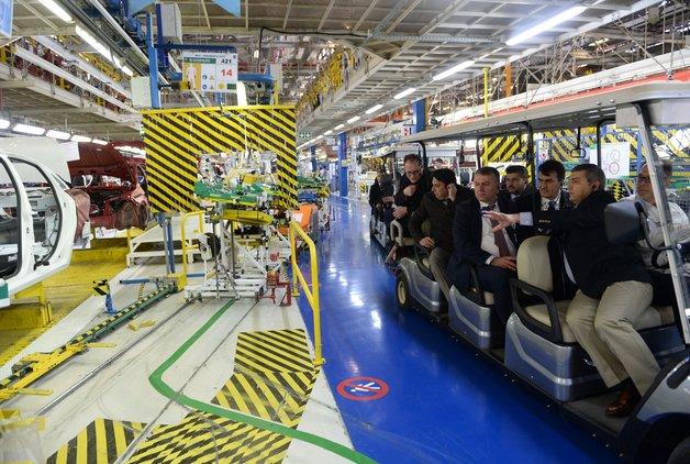 'Avrupa'daki posta araçları Türkiye'de üretiliyor'