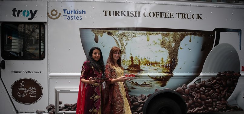 TURKISH COFFEE TRUCK BEGINS US TOUR TO BUILD BRIDGES