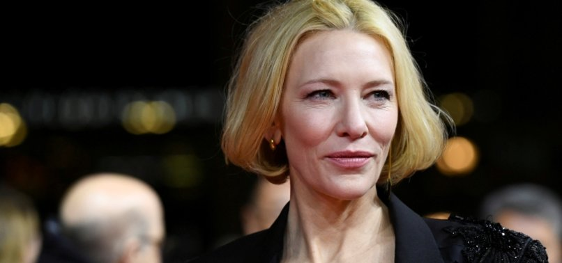 CATE BLANCHETT REVEALS A BIT OF A CHAINSAW ACCIDENT