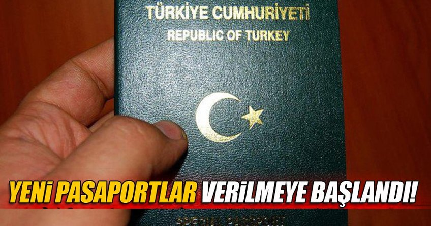 Yeni nesil pasaportlar, Türkiye'nin dış temsilciliklerinde verilmeye başlandı.