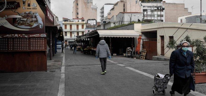 GREECE SEES HIGHEST VIRUS CASES SINCE LOCKDOWN