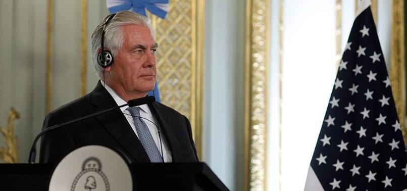 US CONSIDERING SANCTIONS ON VENEZUELAN OIL, TILLERSON SAYS