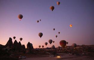 Cappadocia's hot air balloons attract 437,500 tourists