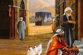 Peygamberimizin dedesi Kureyş reisi Abdülmuttalib