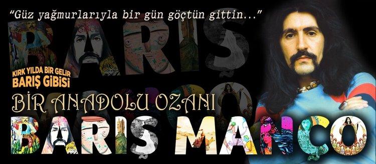 Bir Anadolu ozanı: Barış Manço