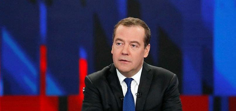 RUSSIAN PM MEDVEDEV SLAMS ANTI-DOPING AGENCYS BAN